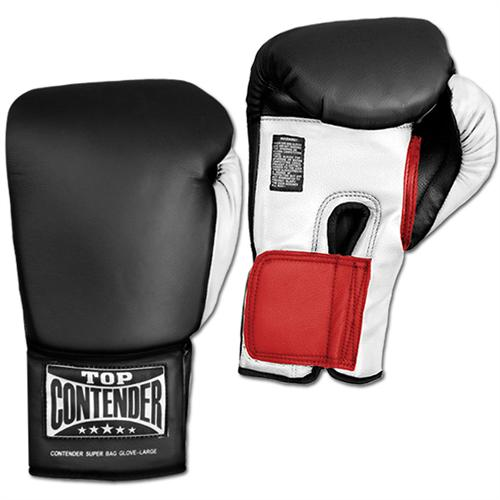 Top Contender Super Bag Gloves - Leather